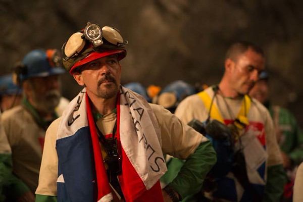 Antonio Banderas stars as Mario Sepulveda, the unofficial leader of the rescued miners.  (Photo courtesy Grace Hill Media)
