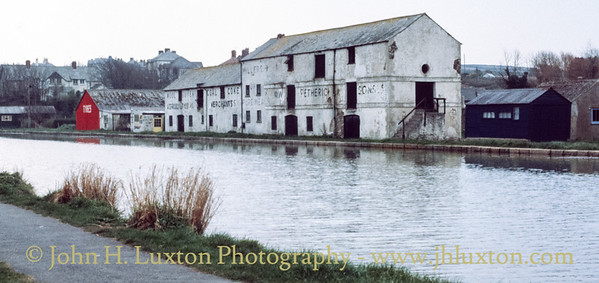 Bude Canal, Cornwall - September 13, 1981