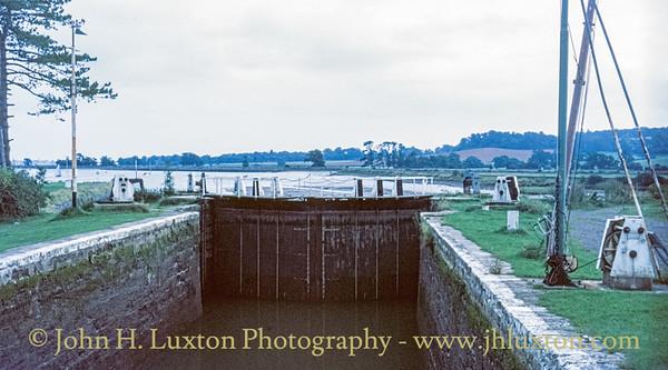 Exeter Canal, Devon - September 05, 1986