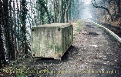Llangollen Canal - Wern-Isaf Cutting - February 22, 1982