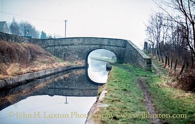 Llangollen Canal - Sun Trevor Wharf - February 22, 1982