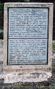 Llangollen Canal - Pontcysyllte Aqueduct  - February 22, 1982