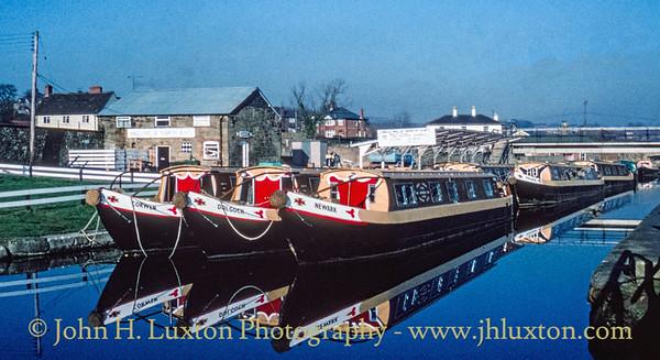 Llangollen Canal - Trefor Wharf - January 21, 1981