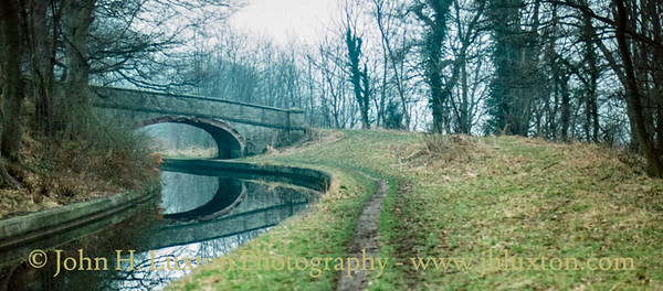 Llangollen Canal - Plas Isaf Bridge - February 22, 1982