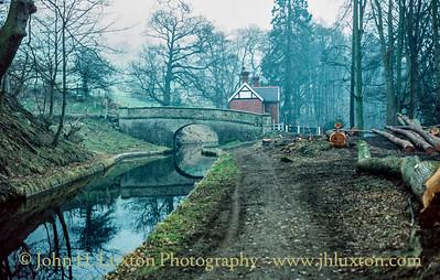 Llangollen Canal - Llanddyn Bridge - February 22, 1982