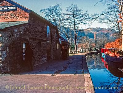 Llangollen Canal - Llangollen Wharf - January 21, 1981