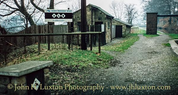 Llangollen Canal - Llangollen Moorings - February 22, 1982