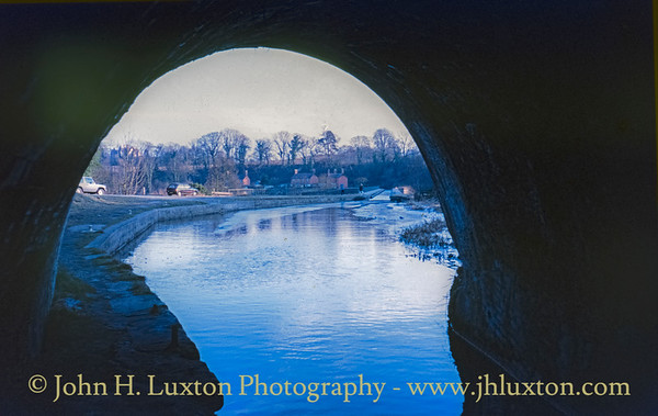 Llangollen Canal - Chirk Whard and Tunnel - February 22, 1982