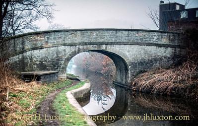 Llangollen Canal - Bryn Howel  Bridge - February 22, 1982