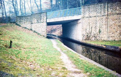 Llangollen Canal - Wenffrwd Bridge - February 22, 1982