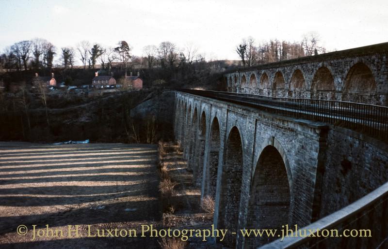 Llangollen Canal - Chirk Aqueduct  - February 06, 1982