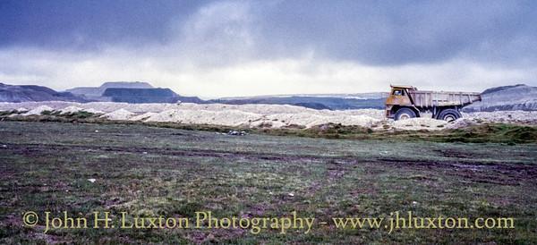 Lee Moor China Clay Works, Dartmoor, Devon - August 19, 1987