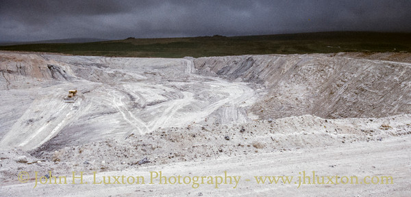 Lee Moor China Clay Works, Dartmoor, Devon - August 19, 1987