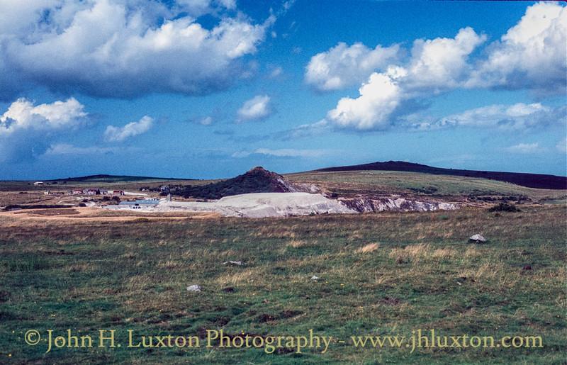 Hawks Tor China Clay Pit, Bodmin Moor, Cornwall - September 09, 1982