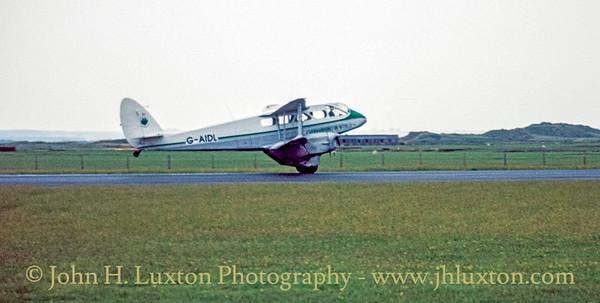 Caernarfon Airport, Gwynedd, Wales - May 26, 1993