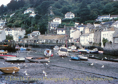 Polperro, Cornwall - August 1980