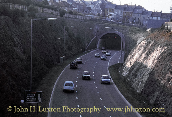 Saltash Tunnel, Saltash, Cornwall - March 31, 1991