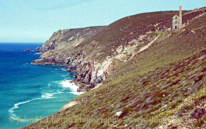 Chapel Porth, Cornwall - June 26, 1983