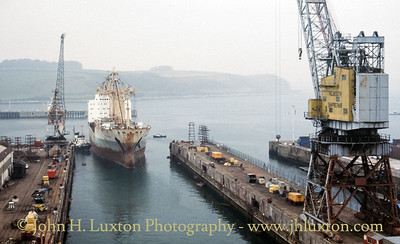 Queen Elizabeth II Dry Dock, Falmouth - March 29, 1989