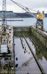 A&P Shipyard, Falmouth, Carrick, Cornwall - October 29, 1990