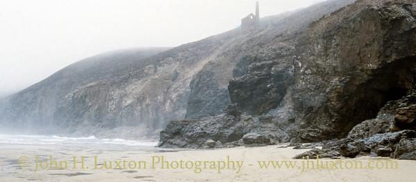 Chapel Porth Beach, St Agnes, Cornwall - April 11, 1990