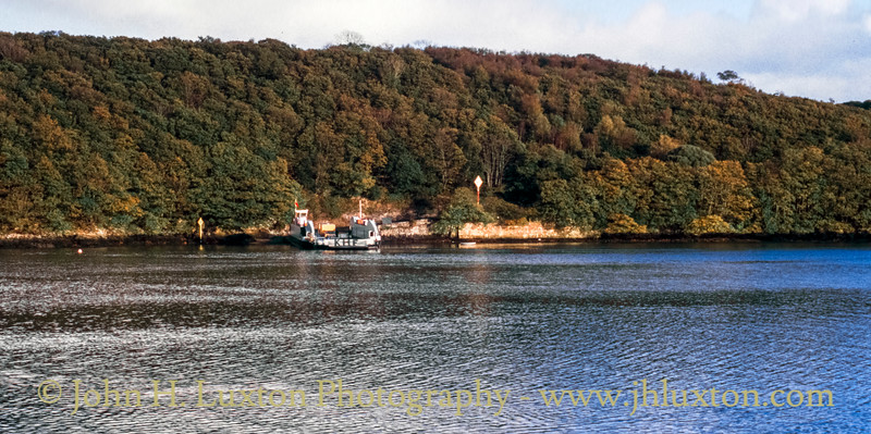 King Harry Ferry, Carrick, Cornwall - October 29, 1990