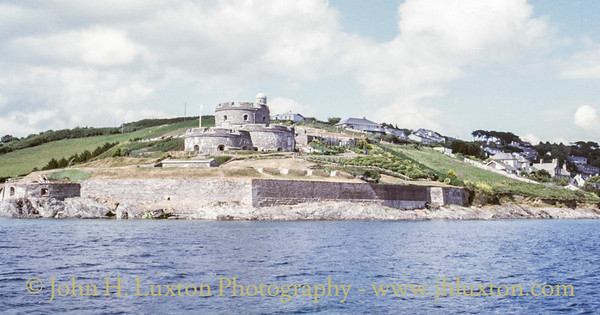 St Mawes Castle, St Mawes, Cornwall - June 1989