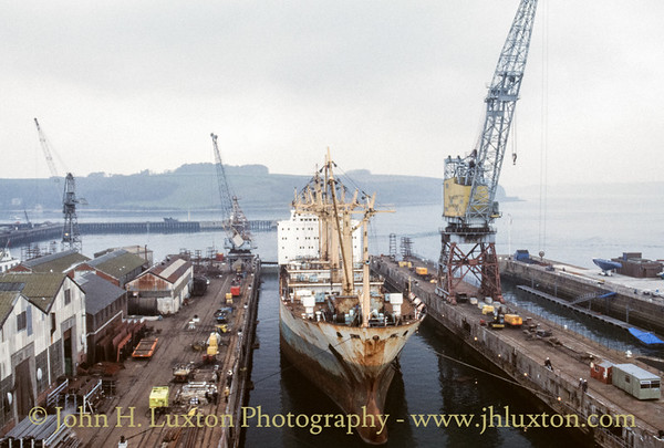 Queen Elizabeth II Dry Dock, Falmouth - March 29, 1989