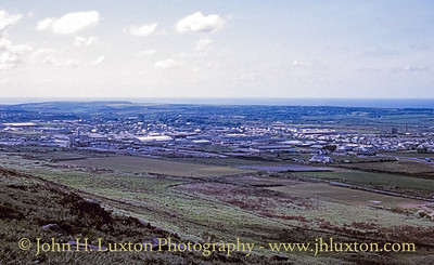 View from Carn Brea, Carn Brea, Redruth, Cornwall - May 29, 1989