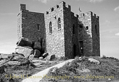 Carn Brea Castle, Carn Brea, Redruth, Cornwall - May 29, 1989
