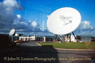 Goonhilly Satellite Earth Station, Goonhilly, Kerrier, Cornwall - November 01, 1990