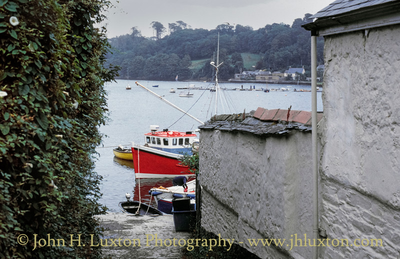 Helford, Kerrier, Cornwall - August 07, 1991
