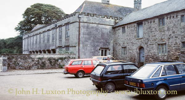 Godolphin House, Breage, Cornwall - August 26, 1988