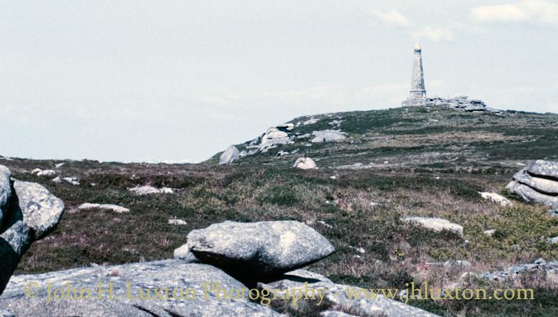 Basset Memorial, Carn Brea, Redruth, Cornwall - May 29, 1989