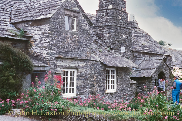 Tintagel Old Post Office, Tintagel, North Cornwall - August 25, 1988
