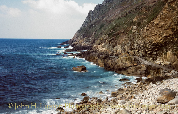 Porth Nanven, St Just, Penwith, Cornwall - April 03, 1989