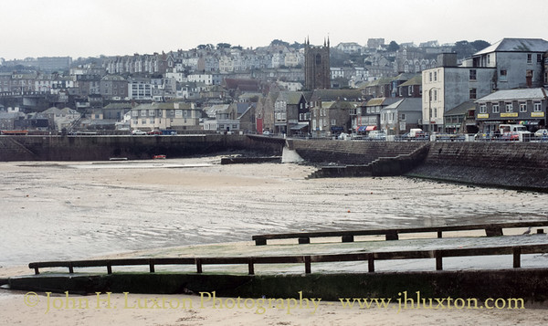 The Harbour, St Ives, Penwith, Cornwall - October 27, 1987