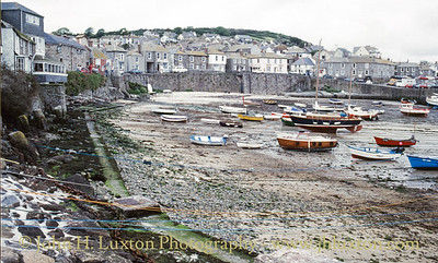 Mousehole Harbour, Mousehole, Cornwall - June 02, 1988