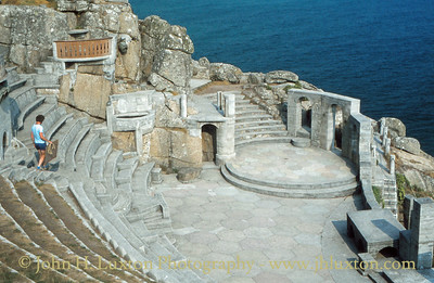 Minack Theatre, St Levan, Porthcurno, Cornwall - September 09, 1981