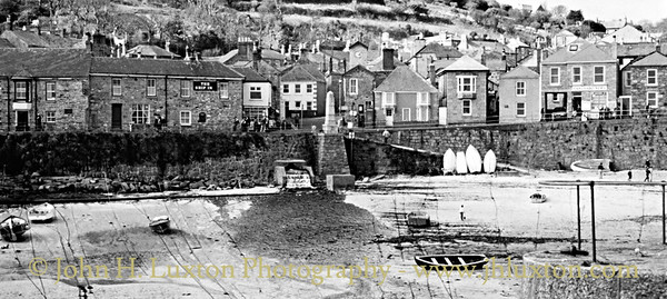 Mousehole, Penwith, Cornwall - March 23, 1989