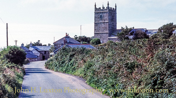 Zennor, Penwith, Cornwall - August 12, 1991
