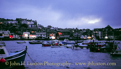 St Ives Harbour, St Ives, Penwith, Cornwall - November 02, 1990