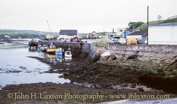 Hayle Harbour, Hayle, Penwith, Cornwall - August 18, 1988