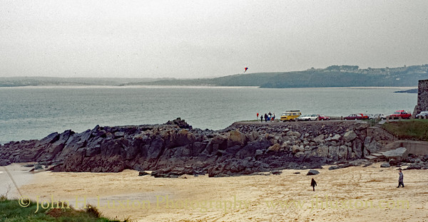 Porthgwidden Beach, St Ives, Cornwall - October 29. 1987