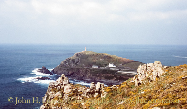 Cape Cornwall, St Just, Penwith, Cornwall - April 03, 1989