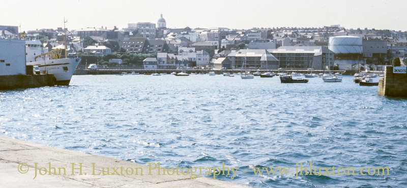 Penzance Harbour, Penzance, Cornwall - May 26, 1991