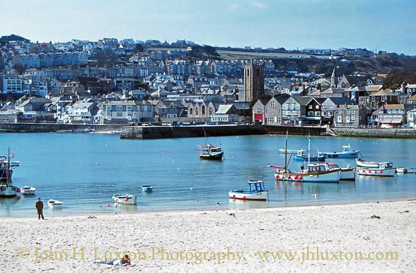 St Ives, Cornwall - April 10, 1984