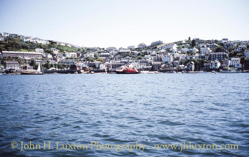 Fowey Harbour, Restormal, Cornwall - August 1994