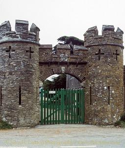 Caerhays Castle, Cornwall - April 05, 1989
