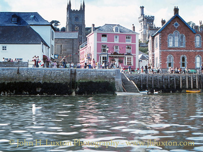 Fowey, Cornwall, September 05, 1982